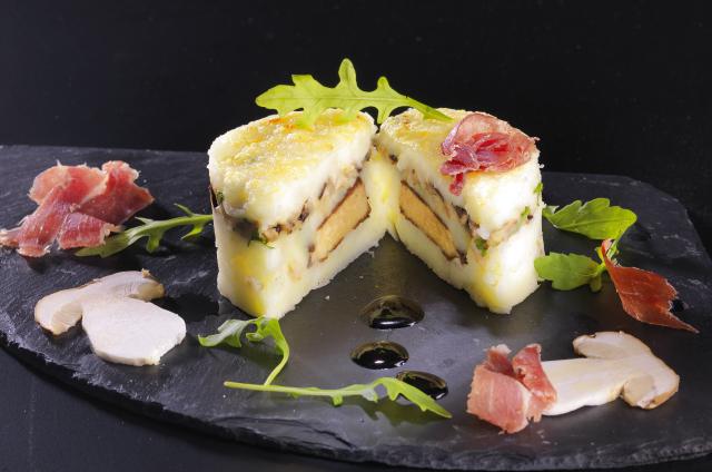 Photo Parmentier de Miss Blush au foie gras de canard et cèpes