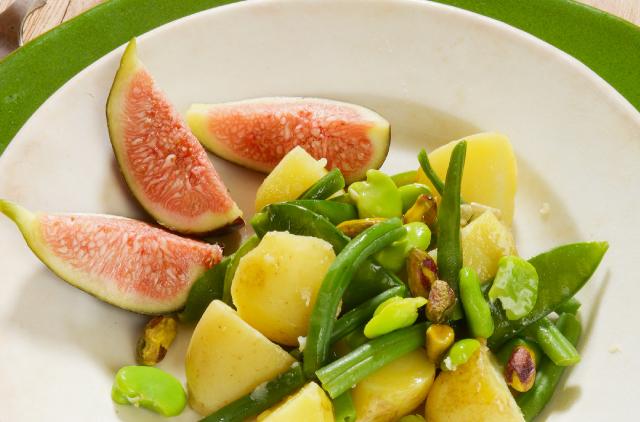 Photo Salade estivale sucrée-salée